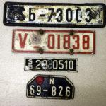 alte deutsche Kfz-Kennzeichen