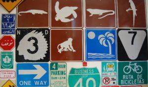 Verkehrsschilder aus aller Welt