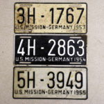 US Mission in Germany 1953 bis 1955 (Diplomaten)