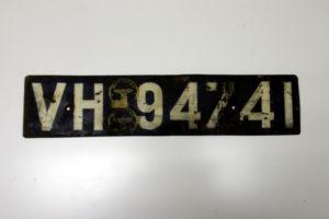 Autokennzeichen Hessen 1937