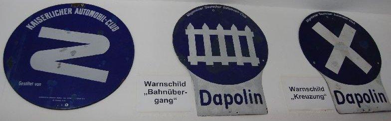 Verkehrszeichen Deutsches Reich