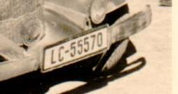 LC Legion Condor PKW Nummernschild