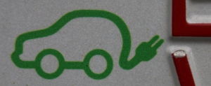 Symbol für Elektroautos