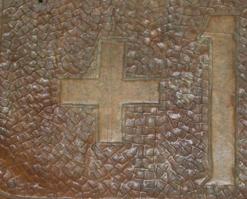 Kreuz bei Kennzeichen von 1939