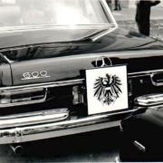 Mercedes Benz 600 Pullmann Bundespräsident Österreich
