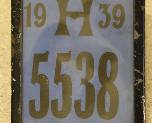 Kennzeichen von 1939