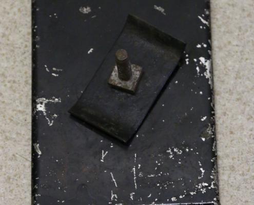 Rückseite von Kennzeichen von 1939