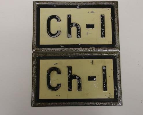 Nummernschild CH 1