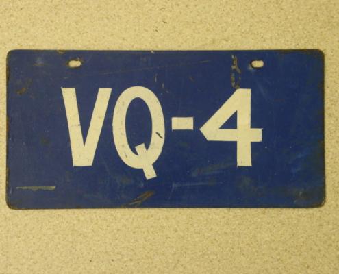 Nummernschild VQ 4